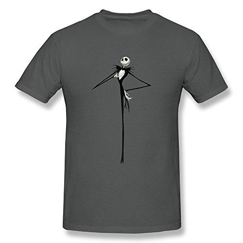 Seico–Herren Jack Skellington Shirt Small ()