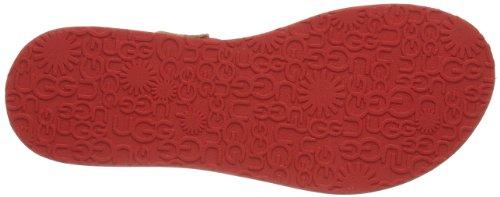UGG Australia Sandales Femme Rosso (Rot (TMS)