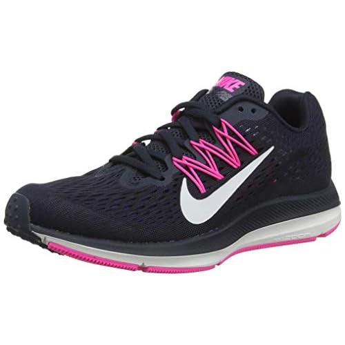 41yggPym4ML. SS500  - Nike Zoom Winflo 5, Women's Running Shoes, Grande Grigio Atmosfera Grigio Rosa Schiuma Nero, 5 UK (38.5 EU)