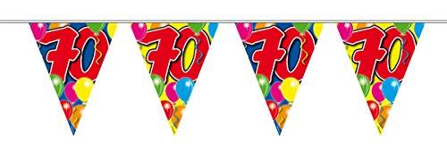 Wimpelkette 70. Geburtstag (70. Geburtstag Zum Artikel 70)