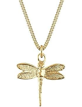 Goldhimmel Damen-Halskette Silber vergoldet 45cm 01527200_45