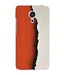Fuson 3D Printed Colour Pattern Designer Back Case Cover for Meizu MX5 - D929