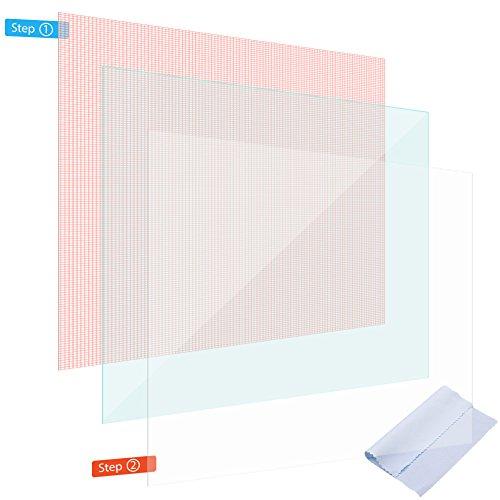 NAmobile Display Schutz Folie für Handy 4 5 6 Zoll Schutzfolie 2X Displayschutz Universal