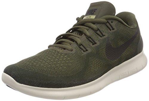 Nike Damen Free RN 2017 Laufschuhe Grün (Cargo Khaki/Black/Sequoia/neut 301) 38.5 EU