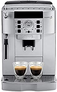 De'Longhi Magnifica S Bean To Cup Coffee Machine, ECAM22.110.SB, Silver, UAE Ver