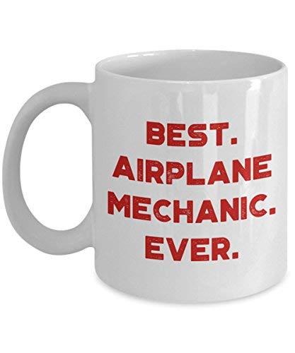 Tasse mit Flugzeug-Mechaniker-Motiv, lustige Teetasse, Kakao, Kaffeetasse – Neuheit Geburtstag...