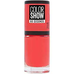 Maybelline New York Colorshow - Vernis à ongles -110 Urban coral - Corail rouge