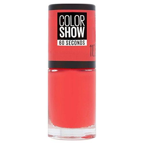Maybelline Color Show 110 Urban Coral - esmaltes uñas