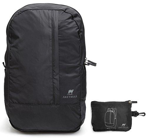 foldable-travel-backpack-arethusa-packable-flight-cabin-bag-with-hook-black-18-litres