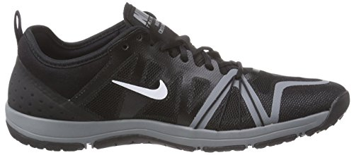 Nike  Free Cross Compete, Chaussures de fitness femmes Noir (black/white/cool Grey)
