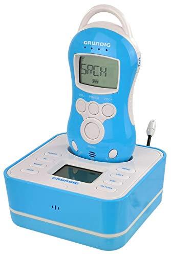Wireless Babyphone Drahtloser Gegensprechfunktion | Einschlafmusik - Nachtlicht - Gegensprechfunktion | Beleuchtetes LCD- Display | integrierte Temperatursensor | Reichweite 50m Indoor -300m Outdoor