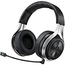 LucidSound LS30 Wireless Universal Gaming Headset (Black) - PRO, PS4, Xbox One, PC, PS3, Xbox 360, Mobile Devices LucidSound
