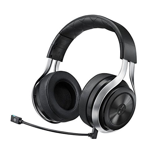 LucidSound LS30 Wireless Universal Gaming Headset (Black) – PRO, PS4, Xbox One, PC, PS3, Xbox 360, Mobile Devices LucidSound 41ygnesNRiL