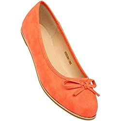 Allen Solly Women's Orange Ballet Flats - India
