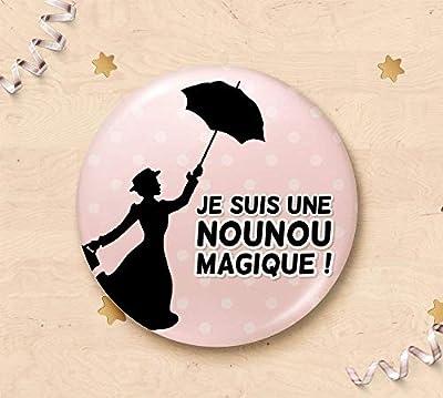 Magnet cadeau pour assistante maternelle - Je suis une nounou magique !