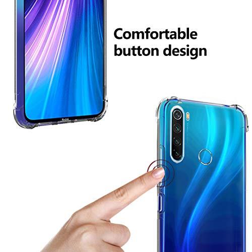Custodia Gomma Cobalto Cover Posteriore Protezione Xiaomi Redmi Note 9