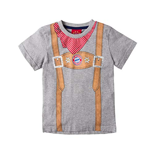FC Bayern München Trach Baby T-Shirt (86/92, grau)