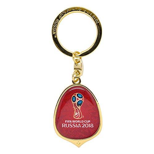 Pokal World Pin Cup (FIFA WM 2018 - Schlüsselanhänger Offset Tropfen)