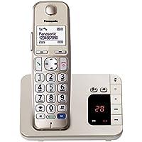 Panasonic KXTGE220 Telefono Cordless DECT, Oro