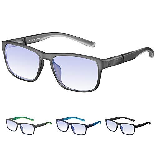 4621037b41 Rezi Gafas de ordenador Gafas Lectura para Protección contra Luz Azul -  Alta Protección para Pantalla