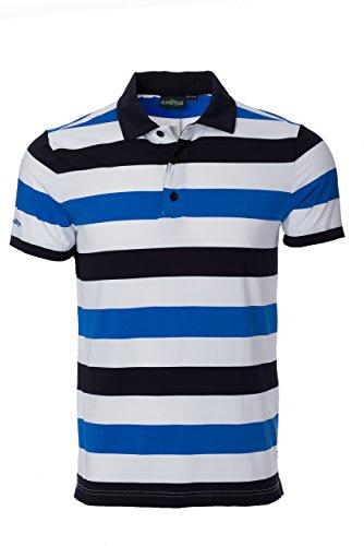 Chervo Herren Atlantic Golf Shirts, Herren, atlantic blue