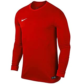 Nike Park VI Jersey LS Maillot Homme, Rouge (University Red/White 657), FR : L (Taille Fabricant : L)
