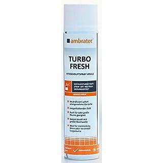 Kevin Budweg Großhandel Ambratec Turbo-Fresh Intensivduftspray 200m³ Intensivespray Vanile 600ml Geruchsneutralisator