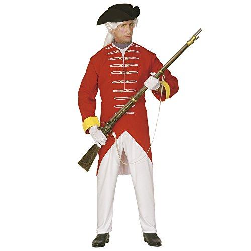 Widmann 44703 - Französisches Soldaten-Outfit für Herren, Größe -