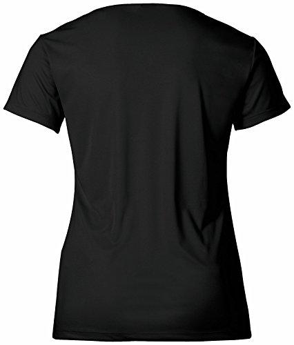 Erima Green Concept T-shirt fonctionnel pour femme Noir - Noir