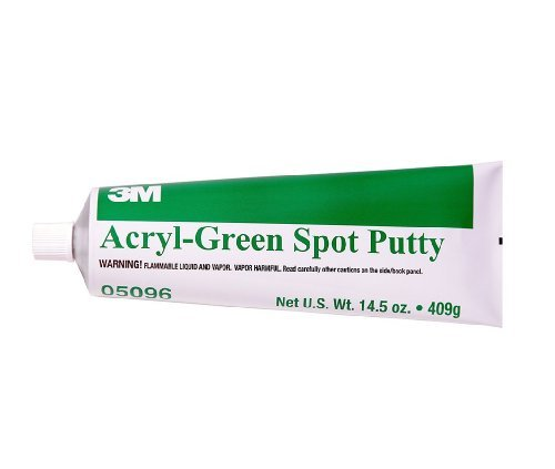 3M 05096 Acryl-Green Spot Putty Tube - 14.5 oz. (Auto-farbe Putty)