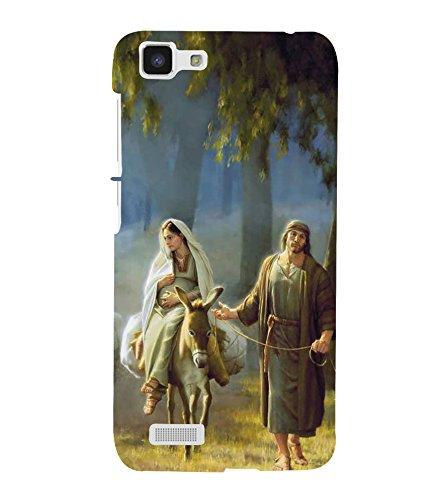 Fuson Designer Back Case Cover for Vivo Y27 :: VivoY27L (Jesus Church Etymology Emmanuel Christ)
