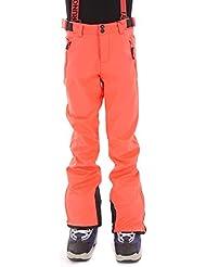 Brunotti Pantalones Pantalones de esquí lustra Rojo portador Pantalón de snowboard invierno, color rojo, tamaño 12 años (152 cm)