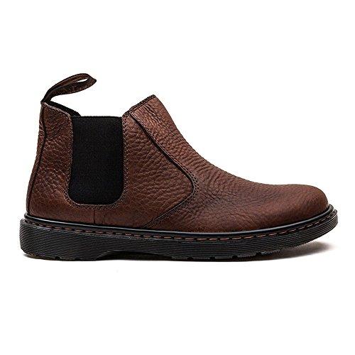 Dr. Dr. Martens In Übergrößen - Boots Conrad Dark Brown Martens Em Mais Tamanhos - Botas Conrad Marrom Escuro