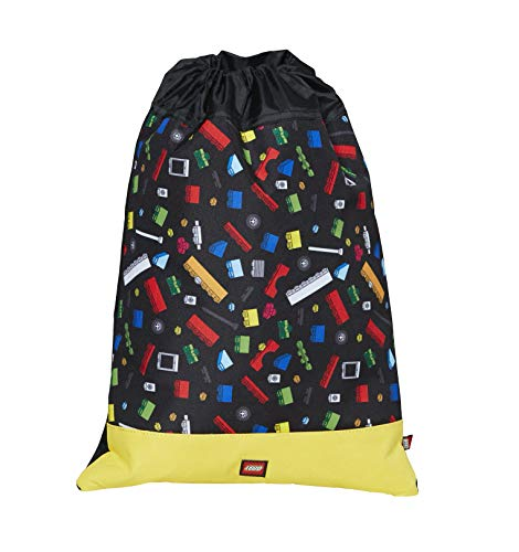 Lego Playroom Originals Sac à Cordon, 39 cm, 7 liters, Multicolore (Multicolor) Lego