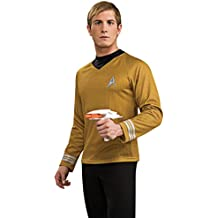 Rubies 3 889120 XL - Disfraz Star Trek, camiseta en color dorado talla XL