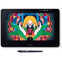 Wacom DTH-1320 Cintiq Pro 13 - Monitor de Dibujo con lápiz Digital Pro Pen 2, Tableta gráfica de 13 Pulgadas, HD 8192 Niveles sensibilidad de presión, Compatible con Windows 10 y Mac OS, Color Negro