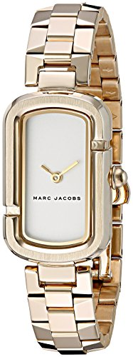 Marc Jacobs Women's Marc Mid MJ3504 Gold Stainless-Steel Quartz Fashion Watch