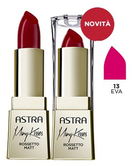 ASTRA Many kisses 13 eva rossetto* - Cosmetici