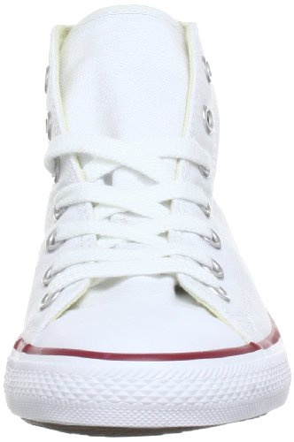 Converse Dainty Bas Mid, Baskets mode mixte adulte Blanc