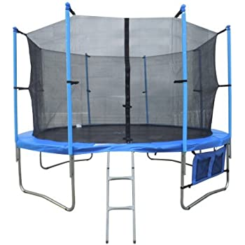 FoxHunter 12FT Trampoline Set Max Load 170kg Includes Safety Net Enclosure £49.99 All Weather Cover £19.99 And Ladder £19.99 TUV GS EN-71 CE Certified RRP £419.99 Total Saving £240 Off the Package
