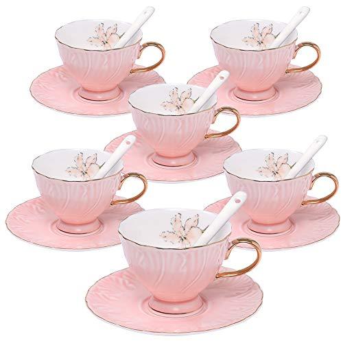 ufengke 4oz Set de Tasse à Café, Service de Thé de...