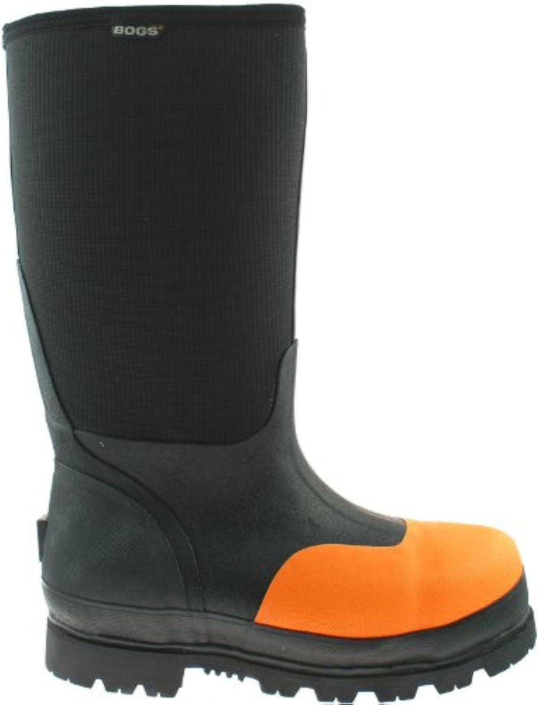 Bogs Mens Steel Toe Safety Wellies Boots Size UK 7 12 Wellington Rancher 71476 UK 10.5 (EU 45)