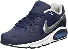 Nike Air MAX Command Leather, Zapatillas de Running para Hombre, Azul (Obsidian/