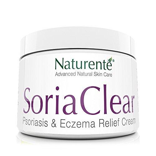 Naturenté SoriaClear 21 Für empfindliche, zu Schuppenflechte, Ekzemen & Dermatitis neigende Haut Natürliche Feuchtigkeitscreme ohne Zusatzstoffe für trockene Haut Naturkosmetik-Creme ohne Parabene -