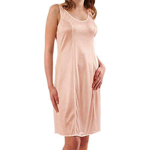 Graziella Damen Unterkleid Unterrock ca. 98 cm antistatisch 3 Farben wählbar Puder Gr. 40 Made in Germany -