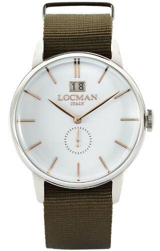 Locman 0252V0800WHRGNG GREEN Steel Man Watch