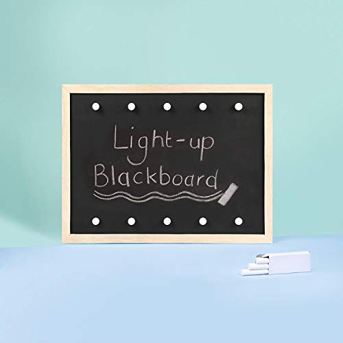 Unbekannt Light Up Marquee Hollywood Mirror Style Party Wedding Event Chalk & Blackboard