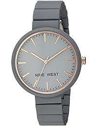 Nine West Analogue Grey Dial Women's Watch (Nw/2012Gyrg)