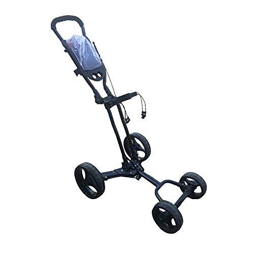 AIMN 4 Golf Push Cart - Golftrolley zusammenklappbar