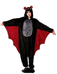 Nicetage Pyjama Animal Unisexe Costume Cosplay Combinaison Onesie Soirée Party Halloween Vêtement de Nuit Déguisement